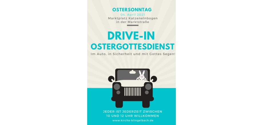Drive-In Gottesdienst